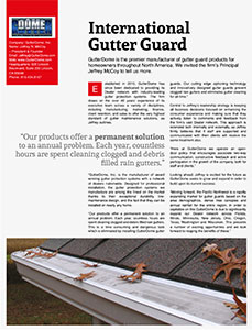 Gutter Excellence Awards
